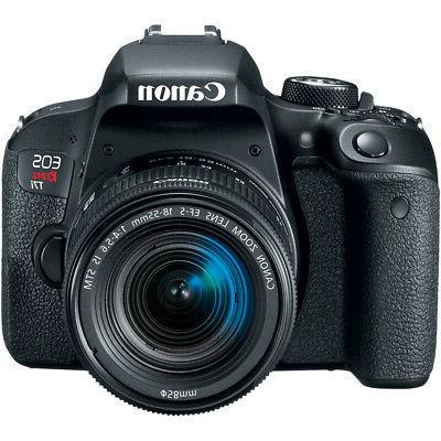 Canon EOS Rebel DSLR 18-55mm Lens Bundle