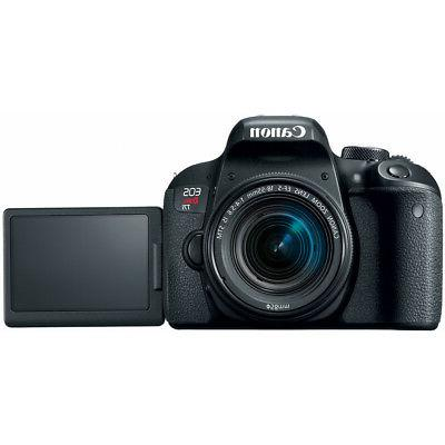 Canon EOS DSLR w/ 18-55mm Lens Triple Battery Recording Bundle