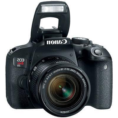 Canon T7i DSLR Lens Triple Battery Bundle