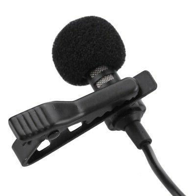 External Clip-on Lapel Lavalier Microphone For iPhone Smart