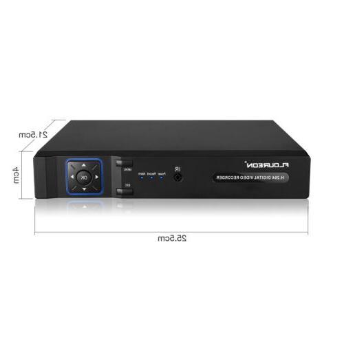 Surveillance 5 IN 8CH AHD VGA Home Security Recorder DVR NVR