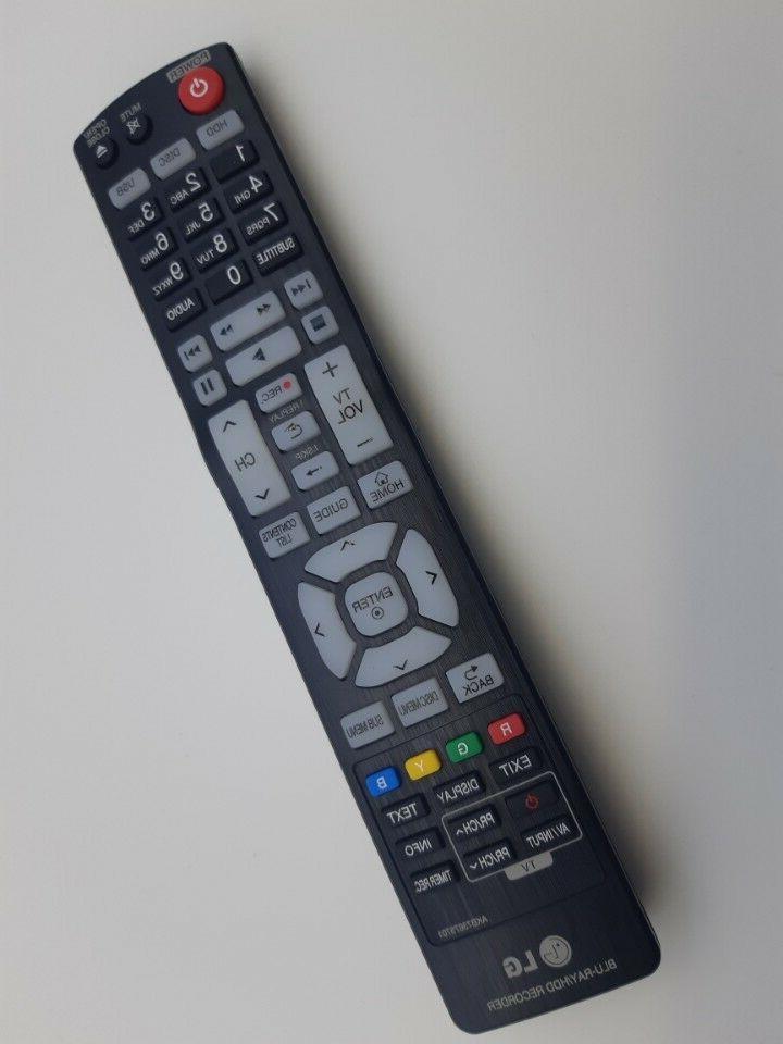 Genuine LG Blu-Ray Recorder remote