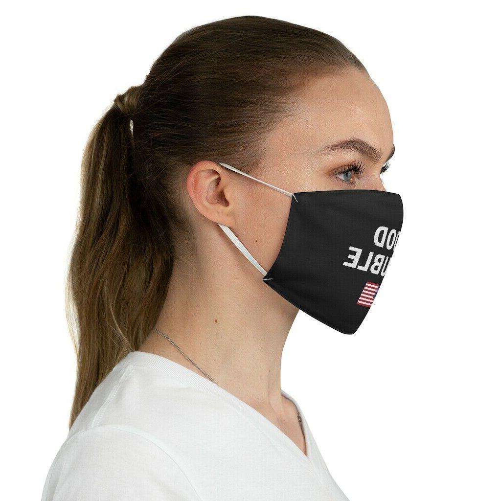 Good US flag Mask Black Face Mask