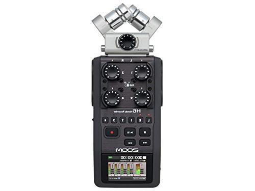 Zoom H6 Portable Kit AC Memory