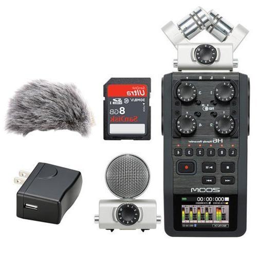 h6 portable recorder kit w
