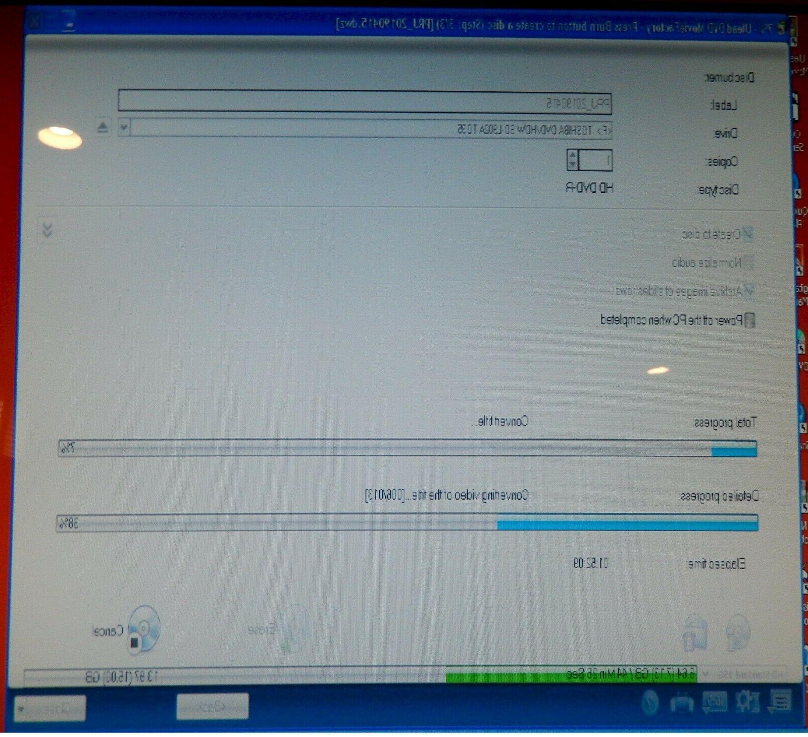 Toshiba Recorder HD USB Burner