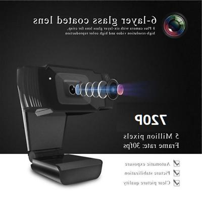 HD USB Web Camera Webcam with Microphone For Desktop