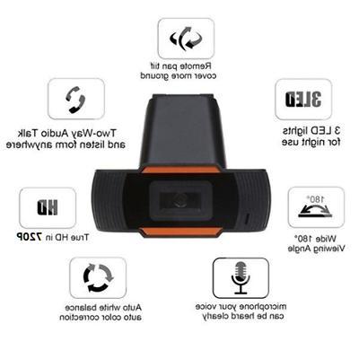 HD Web Webcam Microphone