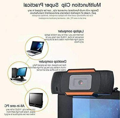 Webcam Recording Microphone For Laptop Desktop