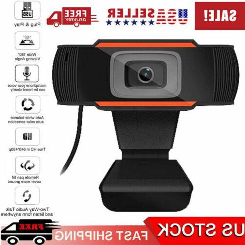 hd webcam video recording usb web camera