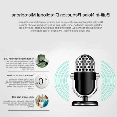 HD Webcam Video Recording Microphone For PC Laptop Desktop