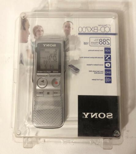 Sony ICD-BX700 Handheld Voice Recorder /