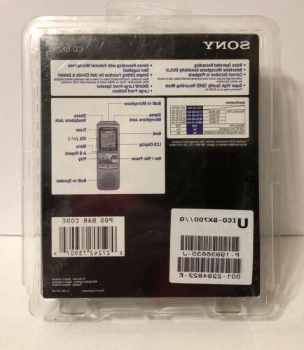 Sony Handheld Voice Recorder