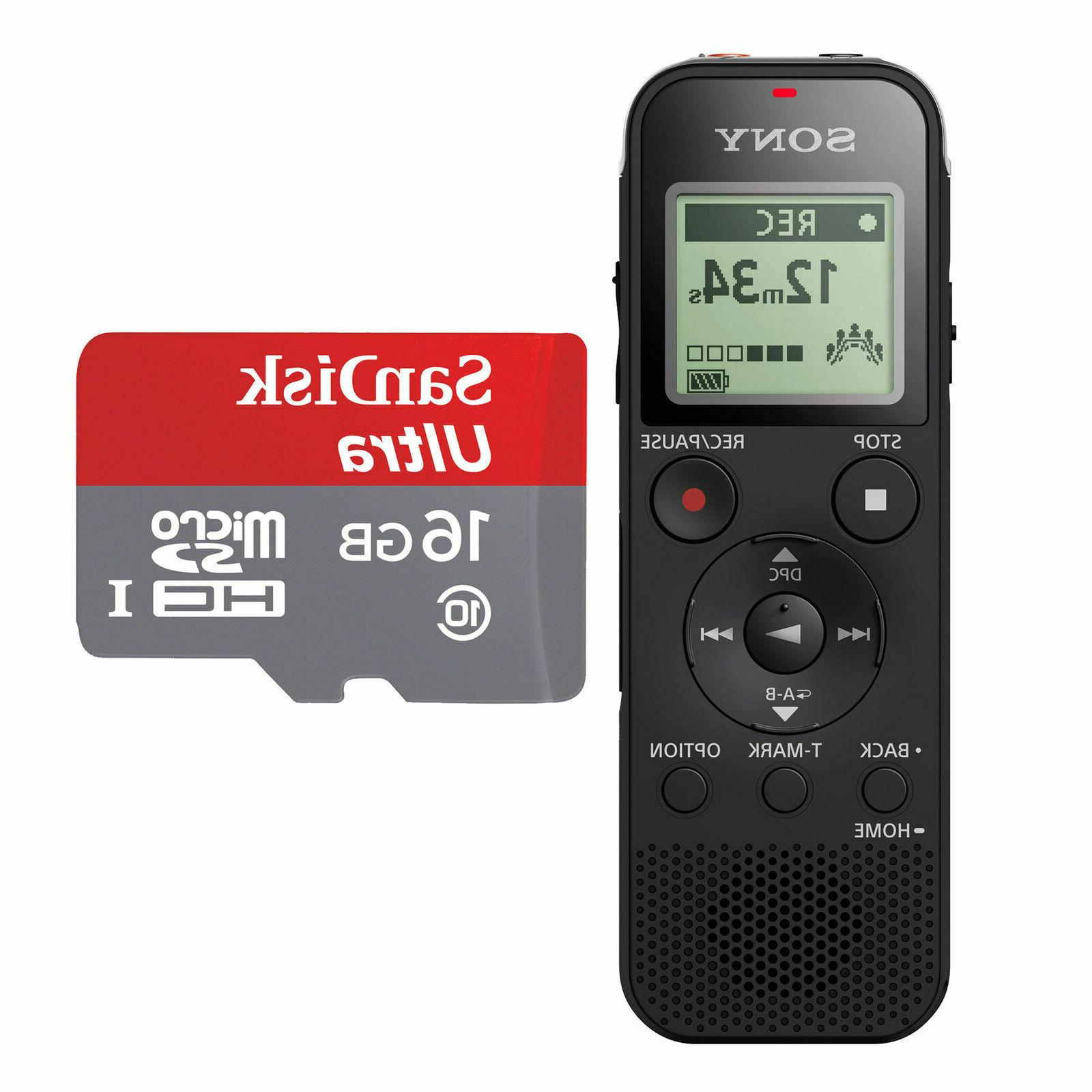 Sony ICD-PX470 4GB Voice USB 16GB Battery