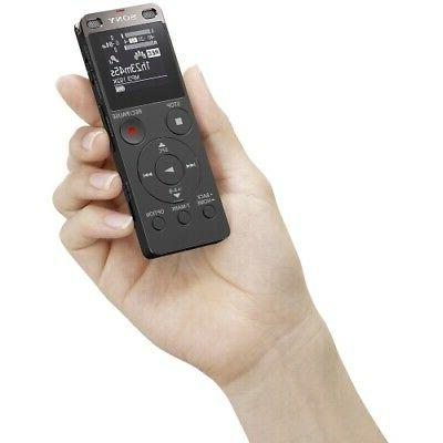 Sony Digital Voice Recorder Black ICD-UX560