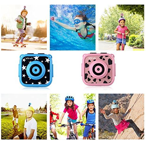 Ourlife Kids Waterproof Camera with Video 8GB Card