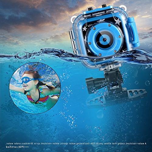Ourlife Kids Waterproof with Video Includes 8GB Card