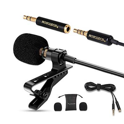 lavalier microphone omnidirectional condenser lavalier for r
