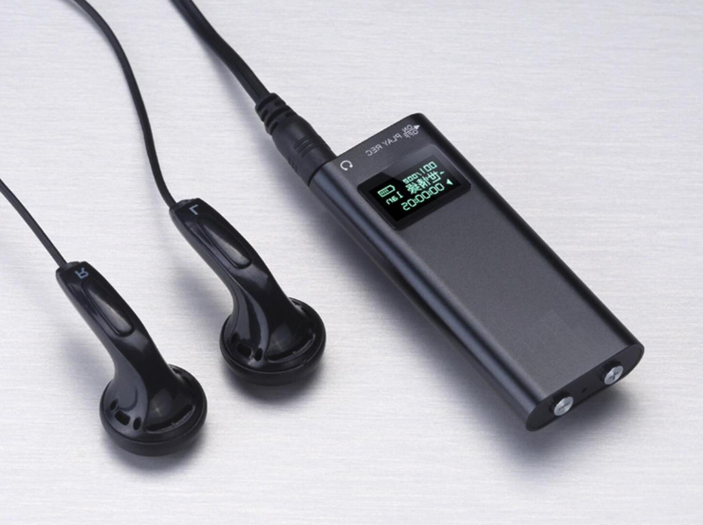 LCD Voice Activated Mini Clip On Digital Voice 8GB