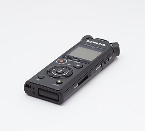 Olympus LS-P4 Linear PCM Recorder, Black