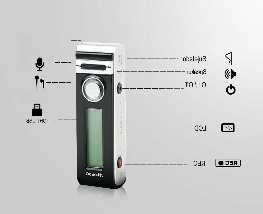 Mini Small Activated Recorder, Audio Recording Device,