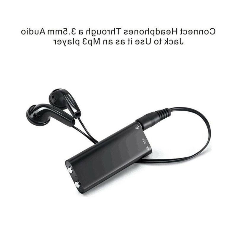 Mini Spy Recorder Voice Hours US