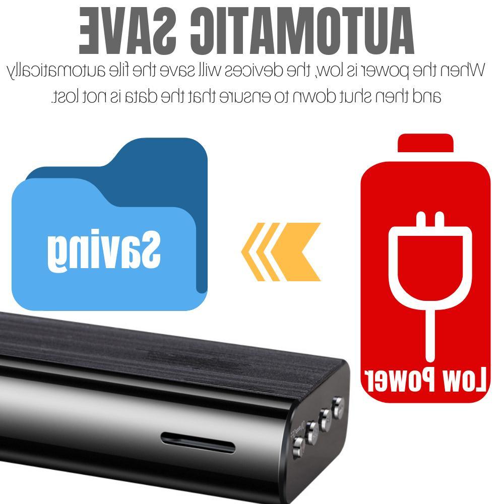 240 Hr Spy Voice Activated Audio Player