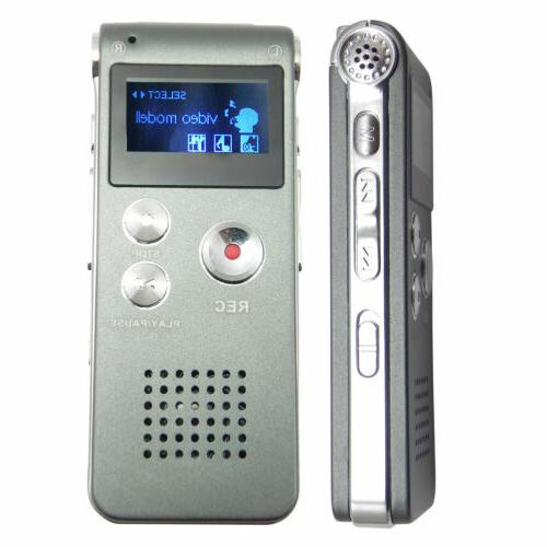 MP3 Voice Sound 650 hr Rechargeable Dictaphone