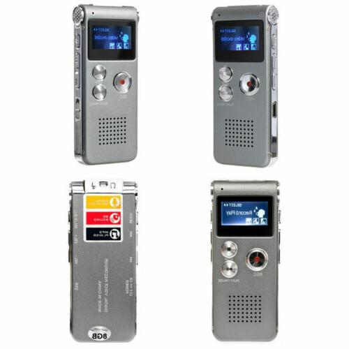 MP3 Player Digital Voice Sound 650 Rechargeable Dictaphone
