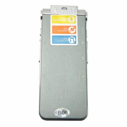 MP3 Player Digital Audio Voice Recorder 650 Rechargeable