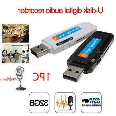 Mini Audio Voice Recorder Dictaphone 32 GB Drive