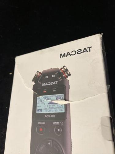 NEW Tascam DR-05X Handheld Digital Recorder & USB Audio