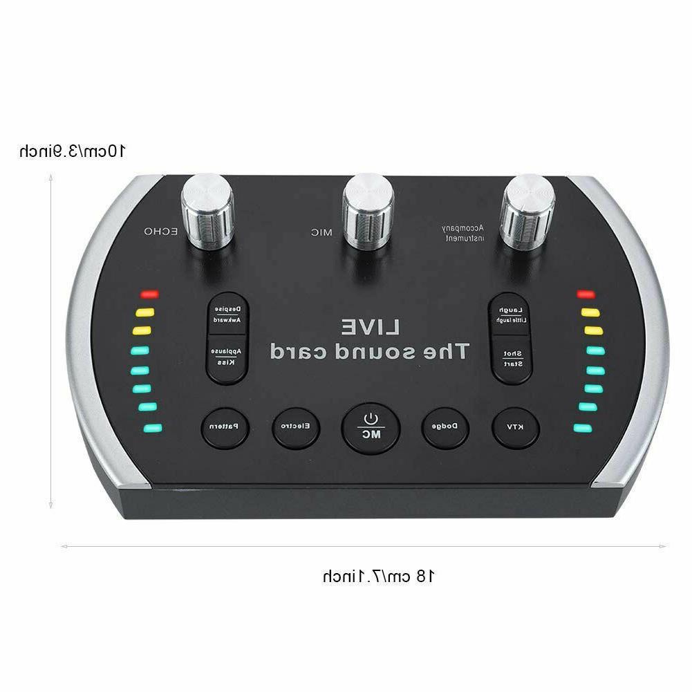 New Electro-Audio Mixer Karaoke studio