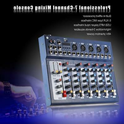 New F7-USB Console USB Interface for DJ Stage