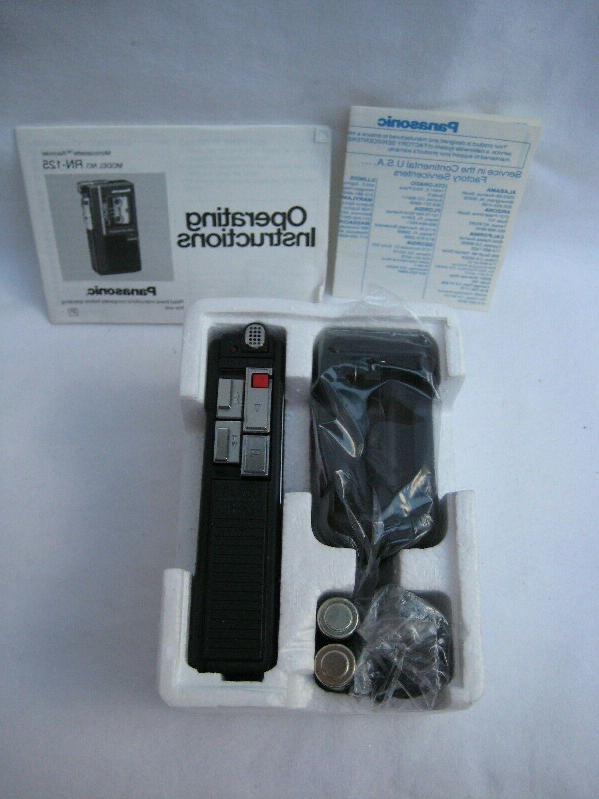 New Panasonic RN 125 Voice VAS