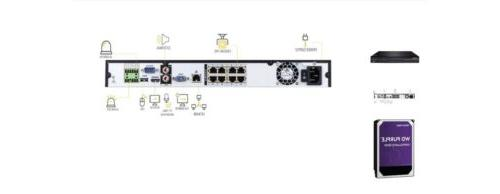 New Q-See QCK81-2 Channel 4k IP Network Video Recorder