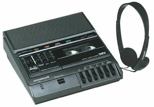 NEW Panasonic RR-830 Desktop Cassette Transcriber / Audio Tape