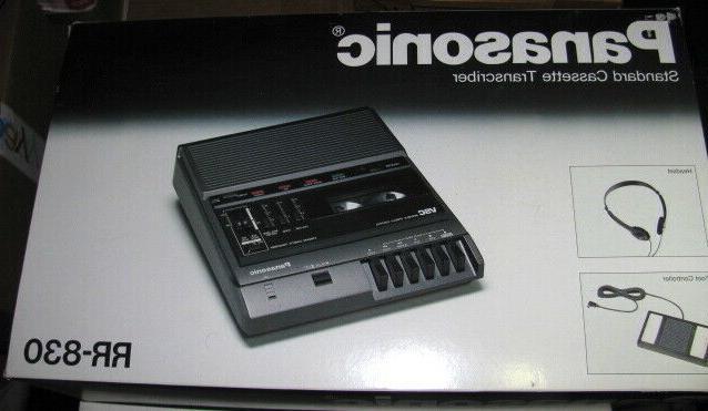 new rr 830 desktop cassette transcriber audio