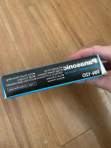 NEW Vintage Panasonic Microcassette Recorder Model RN-120