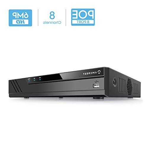 nv2108e poe nvr network recorder