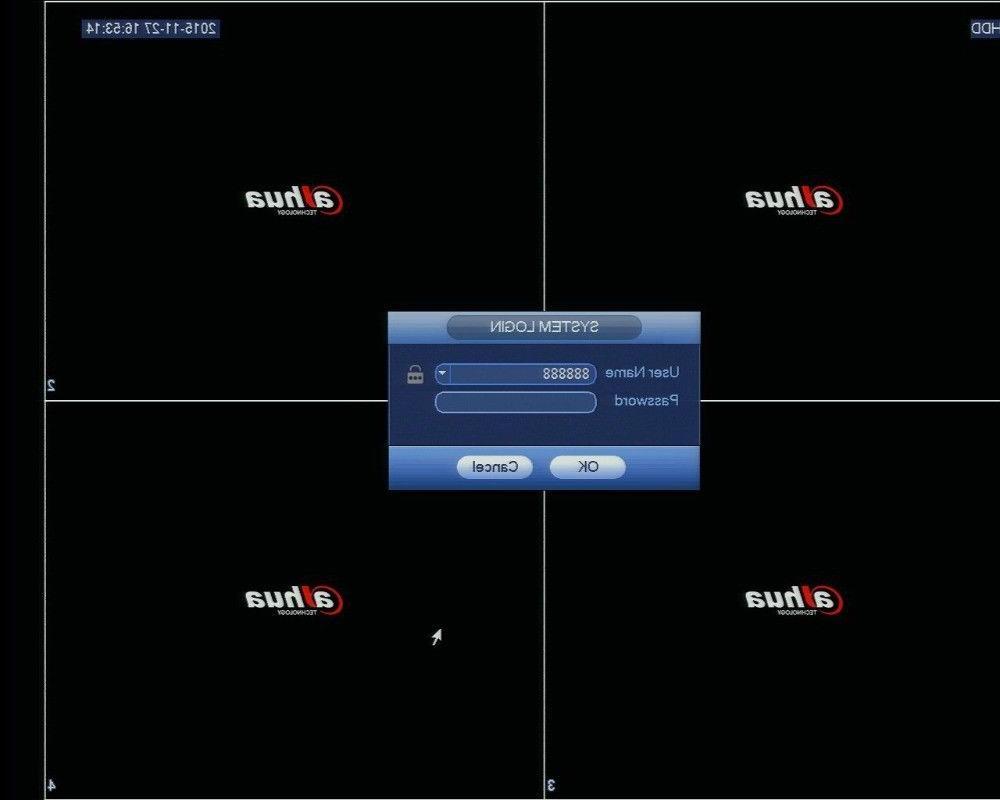 Dahua 4K Video Recorder 8SATA 12MP