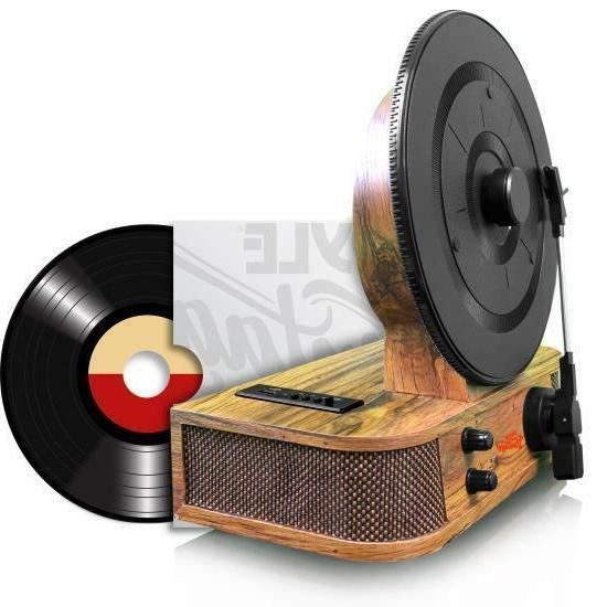 Pyle PLTT21BT Vintage BT Classic Record Player