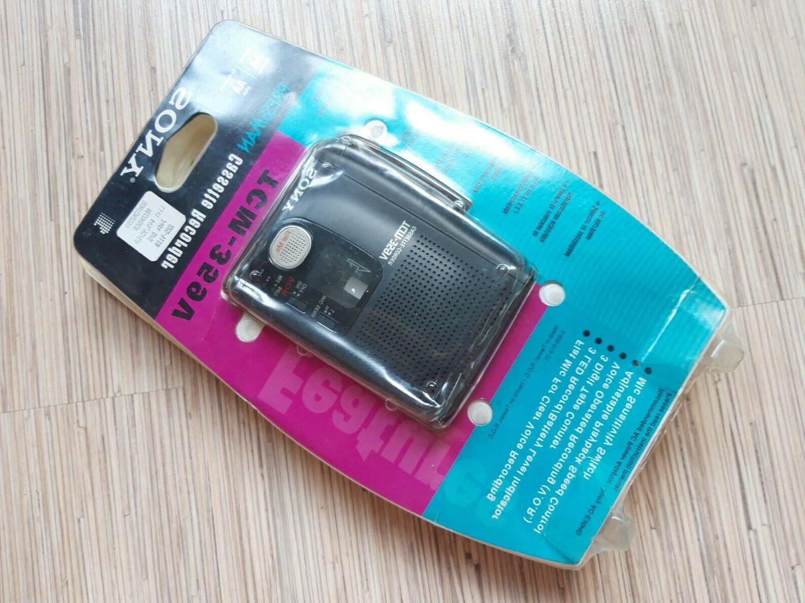 Sony TCM-359V Portable Personal Flat
