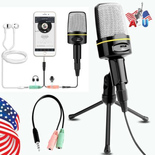 professional audio condenser microphone mic studio sound