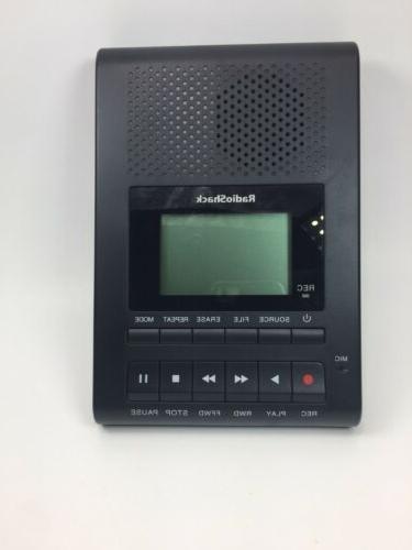 radio shack desktop digital recorder model 1400214