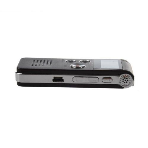 Rechargeable 4GB Digital Recorder Player P2Z5