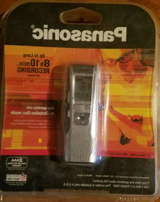 Panasonic RR-QR160 Digital Recorder, URL sample recording be