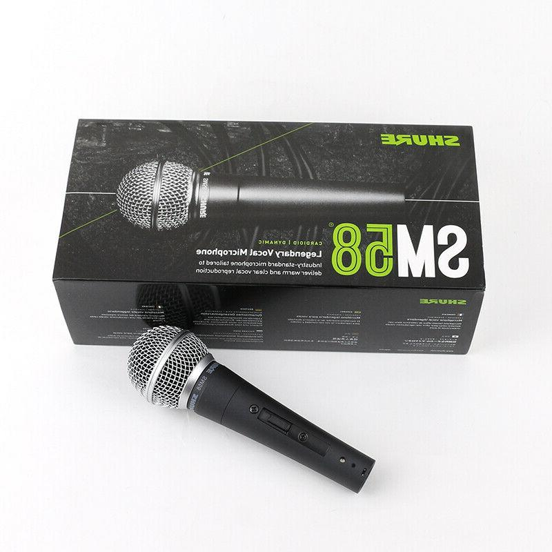 Shure SM58S with On/Off
