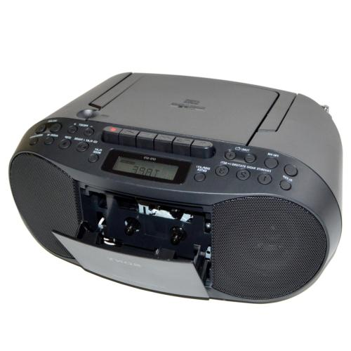 Sony MP3 AM/FM Radio, Cassette Boombox with Mega + +