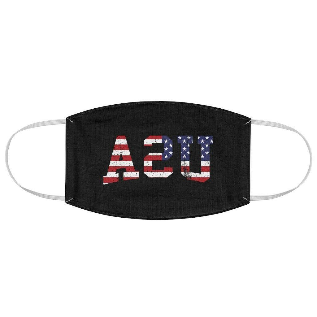 usa america flag trump mask black 100